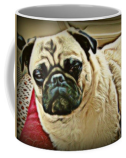 Pampered Pug Coffee Mug