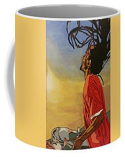 Pan Rising Coffee Mug