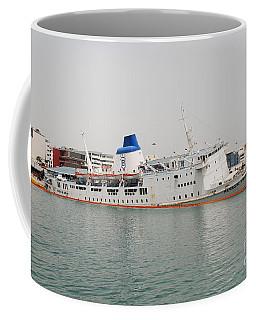 Panagia Tinou Ferry Sinking In Athens Coffee Mug