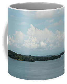 Coffee Mug featuring the photograph Panama Clouds by Ana V Ramirez