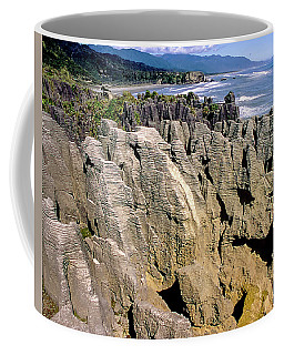 Pancake Rocks New Zaland Coffee Mug