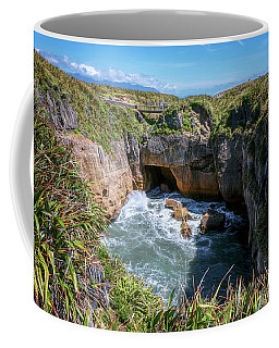 Pancake Rocks New Zealand Coffee Mug