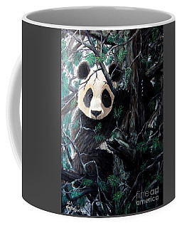 Panda In Tree Coffee Mug