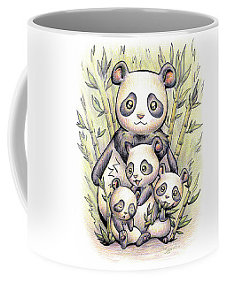 Endangered Animal Giant Panda Coffee Mug