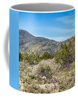 Coffee Mug featuring the digital art Panel 2 Coyote Canyon West by Daniel Hebard