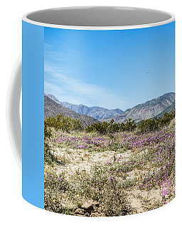 Coffee Mug featuring the digital art Panel 3 Coyote Canyon West by Daniel Hebard