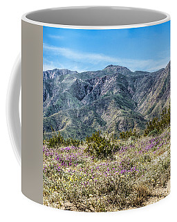 Coffee Mug featuring the digital art Panel 1 Coyote Canyon West by Daniel Hebard