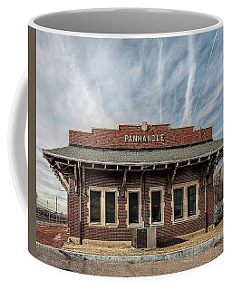 Coffee Mug featuring the photograph Panhandle Depot by Scott Cordell