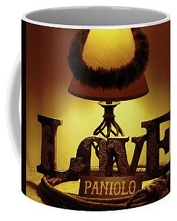Coffee Mug featuring the photograph Paniolo Love by Pamela Walton
