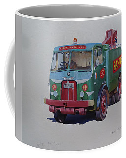 Pannell Leyland Wrecker. Coffee Mug by Mike Jeffries