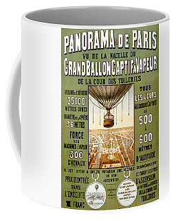 Panorama De Paris Coffee Mug