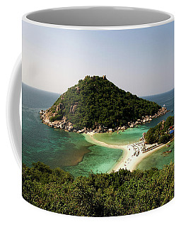 Panorama Koh Nang Yuan In Thailand Coffee Mug
