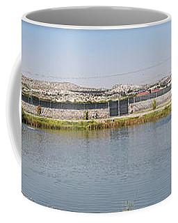 Panorama Of A Pond Coffee Mug