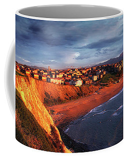 Panorama Of Aixerrota Sunset Coffee Mug