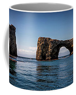 Coffee Mug featuring the photograph Panorama Of Anacapa Rocks by Endre Balogh