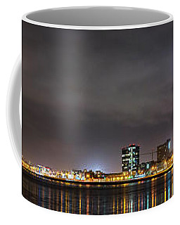 Panorama Of Reykjavik Iceland Coffee Mug by Joe Belanger