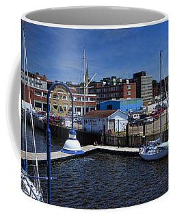 Panorama Of St. John New Brunswick Harbour Coffee Mug