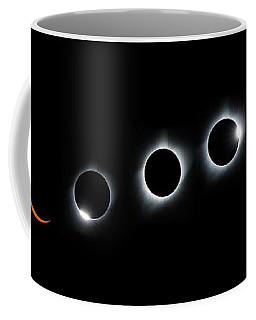 Panorama Of The Great American Eclipse Coffee Mug