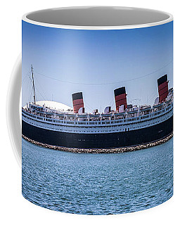 Panorama Of The Queen Mary Coffee Mug
