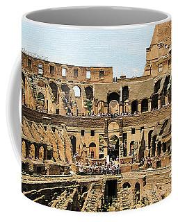 Inside The Colosseum Coffee Mug
