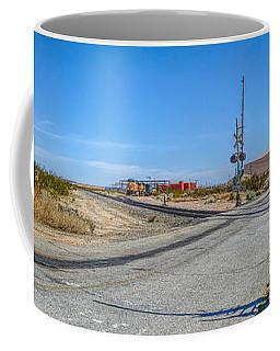 Panoramic Railway Signal Coffee Mug