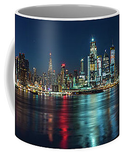Panoramic Skyline-manhattan Coffee Mug