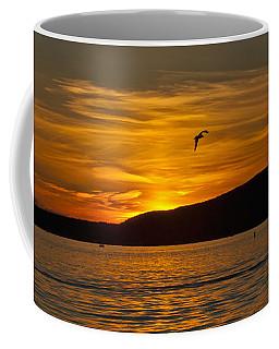 Panoramic Sunset Coffee Mug