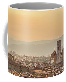 Panorama Of Florence Coffee Mug