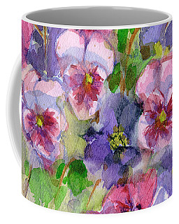 Pansies Coffee Mug