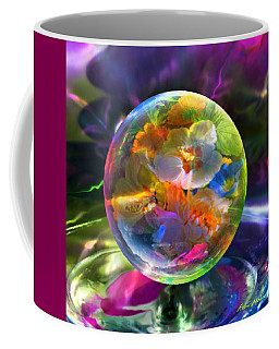 Pansy Drop Coffee Mug