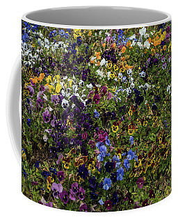 Pansy Patch Coffee Mug