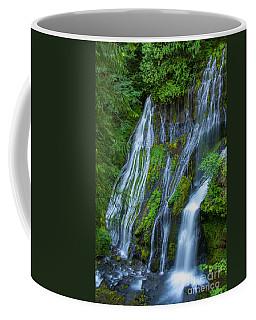 Panther Creek Falls Summer Waterfall 1 Coffee Mug