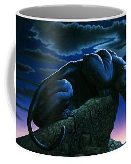 Panther On Rock Coffee Mug