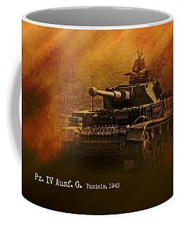Panzer 4 Ausf G Coffee Mug