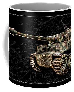 Panzer Tiger I Side Bk Bg Coffee Mug