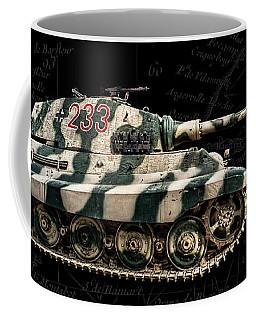 Panzer Tiger II Side Bk Bg Coffee Mug
