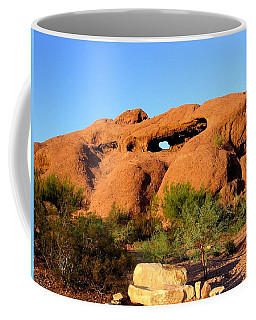 Coffee Mug featuring the photograph Papago Park by Michelle Dallocchio