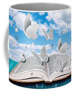 Paper Butterflies Coffee Mug
