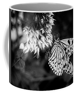 Paper Kite In Black And White Coffee Mug