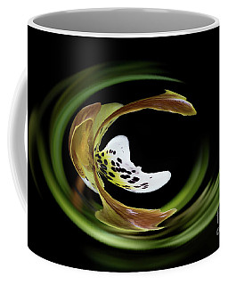 Paphiopedilum Abstract Coffee Mug