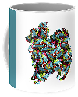 Papillion 2 Spirit Glass Coffee Mug