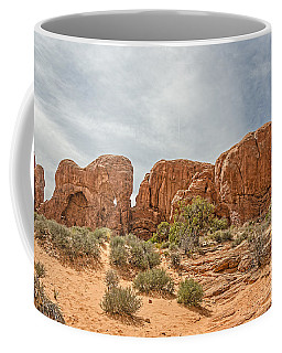 Coffee Mug featuring the photograph Parade Of Elephants by Sue Smith