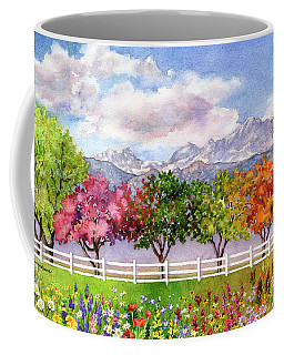 Parade Of The Seasons Coffee Mug