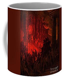 Paradise Lost  Satan In Council Coffee Mug