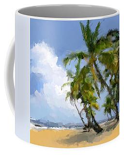 Paradise Tropical Beach Coffee Mug by Anthony Fishburne
