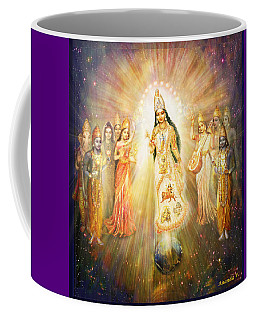 Parashakti Devi - The Great Goddess In Space Coffee Mug
