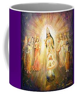 Parashakti Devi - The Great Goddess In Space Coffee Mug