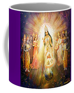 Parashakti Devi/ The Great Mother Goddess In Space Coffee Mug