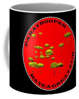 Paratrooper Fun Coffee Mug