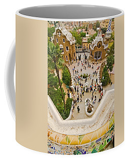 Parc Guell In Barcelona Coffee Mug